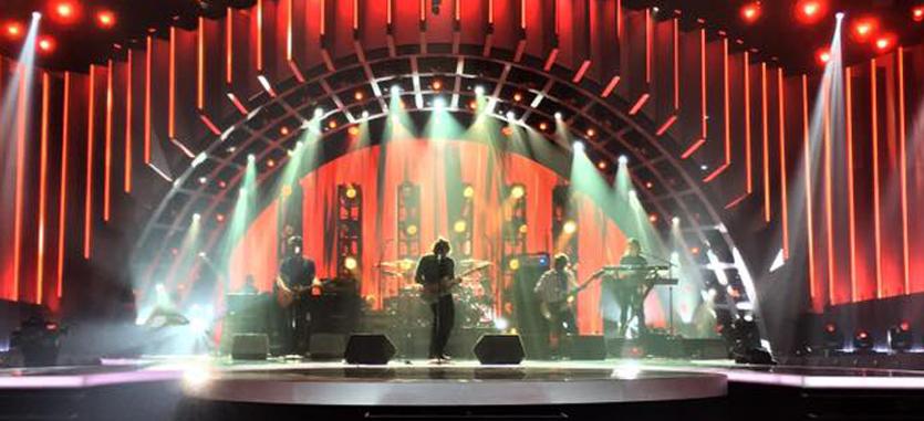 Rick Springfield band performing on ABC